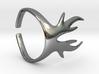Deer Horns Ring 3d printed