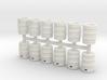 Beer Barrel. 1:64 Scale  3d printed