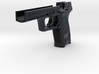 1:6 scale H&K USP lower with levers 3d printed