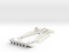 Chassis for NSR Mosler for triangle pod 3d printed