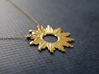 Sun Flare Necklace 3d printed