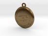 USGS State BM Keychain 3d printed