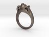 Helmet Fallout Ring 3d printed