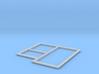 N9062 - Betonplattenform (N 1:160) 3d printed