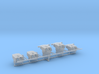 1/600 IJN Type 50 year 3 turrets (8-inch) 1942 Set 3d printed