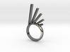 Meteorite Ring-19.7 mm 3d printed