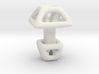 Square Cufflink 3d printed