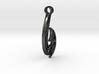 Muai Fishook - Skeleton 3d printed Black Maui Hook