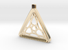 Surround ::: Triangle Pendant ::: v.01 3d printed