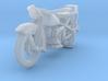 Police Harley Davidson 1930    1:87 3d printed