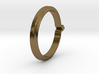 Shapesweeper Hexagonal Basic Ring 3d printed