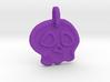 Skully Halloween Pendant 3d printed