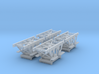 """1/96 IJN Trolley for trailer """"Jake"""" 3d printed"""