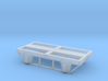 "Four Wheel Frame Base (for 24"" Wheels) 3d printed"