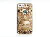 Illuminati IPhone 5 Cover 3d printed Strong Flexible plastic spray painted gold