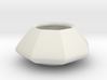 Sugar bowl - Circular to octagonal shape (only bow 3d printed