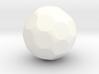 Blank D36 Sphere Dice 3d printed