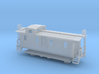 Illinois Central Side Door Caboose II - Nscale 3d printed