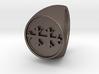 Custom Signet Ring 58 3d printed
