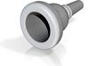 Schilke 51D baritone mouthpiece 3d printed