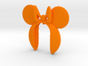 MINIE MOUSE 10 KEY FOB  3d printed