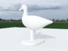 Duck Bird Stand 3d printed Back Side, Duck Model