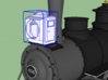 1:48 Box Headlight w/ Electric Conversion On3/On30 3d printed