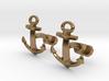 Anchor Cufflinks 3d printed
