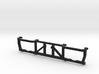 Montagerahmen Doppelschleuder mit durchgehender Mi 3d printed