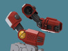 Enclave Arms T1 (poseable), 1/2/3/6/9 pairs 3d printed Arms Render pose1