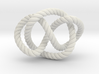 Whitehead link (Rope with detail) 3d printed