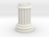 Greek Architecture Chess Set Series; Chess Piece:  3d printed