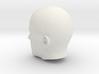 Generic Male Head 1/6 scale figure  3d printed