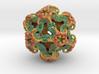 Organoid 1st Mandelbulb3D color mesh ever printed! 3d printed
