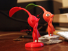 Red Pikmin standing 3d printed