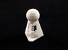 Laboratory token 3d printed White polished