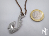 Wind From The West Hook Pendant 3d printed