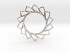 Spiral Flower Pendant 3d printed