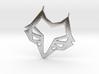 Fox/Wolf Pendant! 3d printed