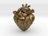 Anatomical Love Heart Cufflink SINGLE 3d printed