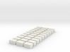 Strohballen Quader 30er Set 1:120 3d printed
