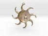 Celestial Pendant 3d printed