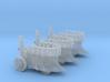 10mm Von Zapple Steam Tanks (3pcs) 3d printed
