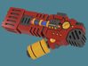 Fusion Blaster M1 bits, pack of 4/8/12/16 3d printed A single weapon render 3