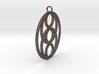 Pendant 6 Circles Ø ~ 43mm / 1.7 inches 3d printed