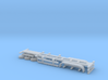 N Gauge Articulated Lorry Container Trailer 3d printed