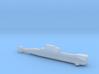 Type 206 submarine, Full Hull, 1/1800 3d printed