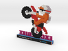 Excitebike nes 3d printed
