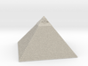 Pyramid with the eye of Masons 3d printed