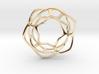 Hex Möbius, 32mm 3d printed